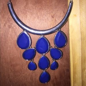 Women's Royal Blue Necklace